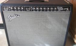 Great sounding amp/ it has gt power tubes/ no buzzing or popping/ comes from a smoke free home/ has 2-12's/ everything works as it should/ comes with a cover/  asking....$650.00