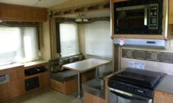 2009 Wildcat Fifth Wheel excellent shape, 2 slide outs, retractable tv, roll out awning, call for more specifics.