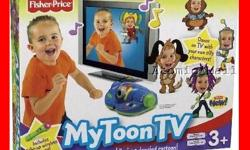 Dance party. Perform to music on TV as your own personalized character with this Fisher-Price My Toon TV game. This game retails for $74.99, I paid $60.00 Never has been out of the box and is still brand new. Would make an excellent gift! Call me at