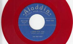 Like~Brand~New Repro That's Hard To Find ! Flip Is Serve Another Round' On Aladdin 3158 !! Some Kool/Heavy Black Vocal Group Sound Here !!! We Have Lots Of Do Wop/R&B/Soul Records Available !!!! See All My Rare/Nice Items For Sale Here & Also At