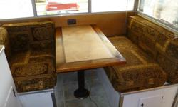 1966 - 15 ft travel trailer From Seattle Washington!! Has some history to it -- has an original table top from the Seattle Space Needle from before it was remodled. Renovations and additions are listed below: Date Renovation and additions