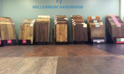 Millennium Hardwood is Austin's new one-stop place for everything floors. We offer a large selection of flooring types and brands (Hardwood, Engineered, Laminate, Vinyl and more) at an affordable price and installed by true professionals. For a FREE