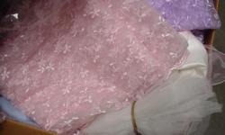 Flowers, Ribbon, Trims, Zippers, Thread, Fabric. All kinds of accesories for sale. Dress company going out of business everthing must go come over and see. We have a lot of items for sale at great prices.