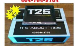 Original T25 by Shaun T Workout Set All DVDs, the workout guide & the meal plan. Give me a call as soon as you can. [4|0|4 7|6|4 8|7|0|4] I would be happy to ship it to you via PayPal If you are not in the local area to meet I have shipped to about 12
