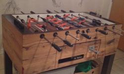 Professional grade Dynamo Fooseball Table. In good condition.