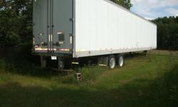 48 ft dry box van trailer