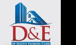 D&E of South Florida Corporation. The Company for all your construction or remodeling needs. Our guarantee to you is a prestige & quality experience. We do residential remodeling and new construction, handling any interior and exterior need; commercial