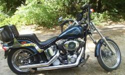 2001 Harley Softail - Standard - custom - 22747 miles - TC-88 Engine - Screaming Eagle Package engine - $6500.00 obo - David 903-530-1939 - Cushing Tc area