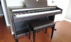 Yamaha clavinova keyboard, excelent condition