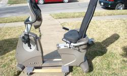 This Spirit XBR25 Recumbent Bike is in great shape to get you in great shape. Good cardio and fat burning workouts. The digital console also has a built-in fan to keep you cool. Comes with instructions manual. In excellent
