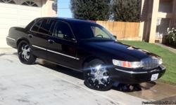 2001 MERCURY GRAND MARQUIS LS 104,000 Miles, Runs Great! 24 Inch Rims, GoodLeather Interior, AC, Cruise Control, CD Player, Smogged, Registered, $3000 obo 'First Come First Served' 661406-1515