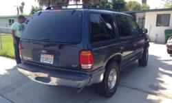 FORD EXPLORER XLT 98 6 CILINDERS .running good .Excellent shape like new body in perfect condition .