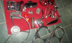 MISC. USED PARTS FOR FORD, PONT , MERC, MUSTANG, ALL USEABLE