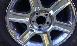 Fours ford rims 17x7.5 with lug pattern of 5 by  4.5