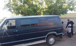work van it runs good ford 350 1.ton