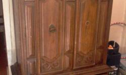 good condition oks wood solid madera fina antiguo