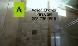 Custom Tile Setter-Bathroom Remodel-Tile Installation Company Action Shower Pan.Com 303-736-9815 Visit our website - www.actionshowerpan.com In a hurry? Tile it quick! Professional tile setters offering shower pan repair,bathroom remodeling and tile