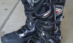 Adult Men's, FOX Comp 5 motocross boots- size 10. Only worn 4 times! Might as well be brand new. $75