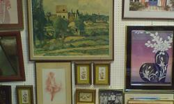 Frames--All Sizes. Framed prints, painting, more.... Decorator items donated daily.  THE ARK THRIFT SHOP 1302 N. Milwaukee, Chicago 60622 A Not-for Profit Organization  Bargain Hunter?s