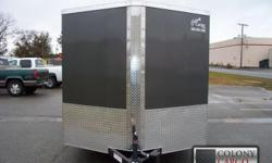 Stock #: custom order Serial #:order Description :::::: the standard features are not too bad either!!! They include: 1.) Thermacool lined ceiling 2.) V-nose w/ solid wall construction 3.) Rear ramp door w/ spring assist 4.)