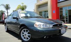 Beautiful and great condition 1998 Contour - with only 83,xxx miles! Powerful yet gas-saving v6 2.5L engine, automatic transmission, power windows, power locks, power steering, seat covers, cruise control, AM/FM stereo, cassette, and MORE! Great as a