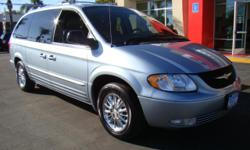 If you want a big minivan for the family that is reliable, reputable, and loaded with every modern convention that you expect out of one, then here is what you need & want: the 2004 Chrysler Town & Country! Want seating for 7? Done. Want the DVD screen