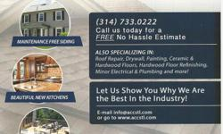 """America""""s Choice Construction - We are a full service contractor and no job is to big or small for our team to handle. From windows, siding, decks to kitchen & bath remodeling or full rehabs. We can help make your home improvement dreams a reality. Call"""