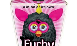 FURBY 2012 BLACK/PINK A MIND OF ITS OWN!  NEW in factory sealed package!