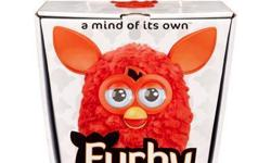 FURBY 2012 ORANGE/RED A MIND OF ITS OWN!  NEW in factory sealed package!  Everybody's favorite fuzzy friend is back in brilliant orange-red. FURBY now comes in a whole spectrum of bright new colors including this eye-catching orange-red
