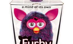 FURBY 2012 PURPLE A MIND OF ITS OWN!  NEW in factory sealed package!  Everyone's favorite fuzzy friend is looking good in brilliant purple for 2012. FURBY and purple just seem to go together ? and you can get your purple FURBY first