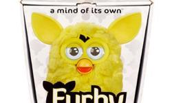 FURBY 2012 YELLOW A MIND OF ITS OWN!  NEW in factory sealed package!  Soft and cuddly, the newest FURBY comes in a rainbow of fun colors, including this super friendly yellow! Whether you're taking your yellow FURBY out or staying in,