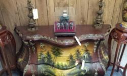 Beautiful antique Furniture and collectible items.we are locatedat 4580 E. 49TH st Vernon, CA 90058. Preview will be on 10/09 AT 10-4PM Auction 10/10 @ 5:30PM. for further information please contact us at -- or www.La3hauction. Come to