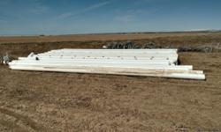 10 and 12 inch plastic gated irrigation pipe in good condition.