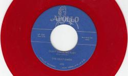 Mint- Repro That's Hard To Find On Color Vinyl ! Flip Is 'Baby Don't Go' On Apollo 470 We Have Lots Of Nice Do Wop/R&B/Soul Records/Items Available !!! 760-218-6622 (sorry no texting) ! See All My Rare Items For Sale Here & Also At