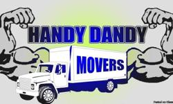 -Best Prices - (2-man crew) -The Most Friendly Service -Responsible Professionals -Over 14 years of experience -Careful and Caring FOR A FREE QUOTE CALL (850) 299-4412OR Log Onto Our Website: (www.handydandymoving.com)