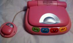 This is a slightly used toy with alot of learning activities.