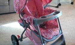 Like brand new, I loved this stroller have a boy now must get rid of it.