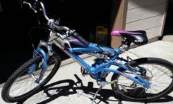 """24"""" schwinn bicycle for sale. Gs25. Good condition. Asking $60."""