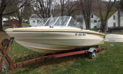 Great boat for tubers and skiers. Very reliable had in water Lat summer. Family grew and we needed a bigger boat