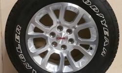 """***GMC SIERRA 18"""" WHEELS WITH 265/65/R18 TIRES!!! LIKE NEW PULL OFFS!!*** ***WE ALSO HAVE IN STOCK NEW AND USED TAKE OFFS FOR CHEVY SILVERADO 1500,2500 HD, 3500,TAHOE, GMC SIERRA,YUKON, FORD F-150 F-250,DODGE"""