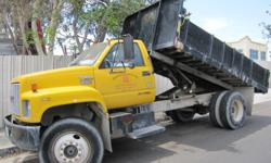 The 1991 dump truck is in great condition. Please contact Marijan at 310-951-4528 for further details.