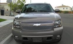 Redesigned for 2007, the two wheel-drive Tahoe comes equipped with GPS/on-star, CD-DVD/AUX stereo, rear DVD player, leather interior, power accessories. The 2007 Chevy Tahoe with sharper bodylines and a more refined interior. Lower and wider for better