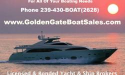 GOLDEN GATE BOAT SALES - Licensed & Bonded Yacht & Ship Brokers Whether you're Buying or Selling, our Licensed & Bonded Yacht & Ship Brokers are ready to assist you today! No Radar Needed to cruise through our website. Simply click on the site navigation