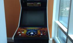 """BASICALLY BRAND NEW!!! GOLDEN TEE LIVE 2010 IN IMMACULATE CONDITION! EXCELLENT FOR LOCAL SPORTS BARS & RESTAURANTS, MANCAVE, GARAGE OR BASEMENT OR EVEN YOUR HOME GAMEROOM. IT HAS THE VOICE OF PAT SUMMERAL AND A BIG 26"""" MONITOR UPRIGHT CABINET + BILL &"""