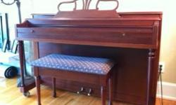Hello there: Check out our selection of fully working and playable pianos & we have some to choose from As you want something that plays well and has some character we can get you one for 650 dollar grand total If distiction and the decor of your home is