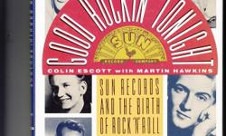 Very Good Condition The Story Of Sun Records & The Birth Of R&R ! The Times & Sounds Of Those Who Inspired The Music w/Lots Of Photos !! We Have More Of These Available !!! See All My Rare/Nice Items Here & Also At http://www.bonanza.com/thedowopshop