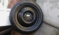 T135/80D16 60psi. Tire has not been used just sat around collecting dust.