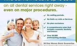 Purchase a very affordable dental discount plan for:      *14.95 per month for an individual, or      *19.95 per month for entire household. Plan also includes:      *chiropractic