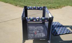 Graco Pack-N-Play. Easy to set up and easy to break down, when folded up it is a very compact item and easy to take along in car. Excellent condition. Call --