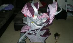 Graco Travel System in excellent condition. Includes Carseat, Stroller and Base for car. Like new!!!!!!!!!!!